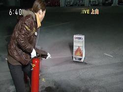 NHKのニュースで生放送